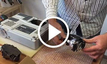 Wideo wymiana - Panasonic